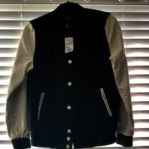 Casual Jacket/Black/Cream